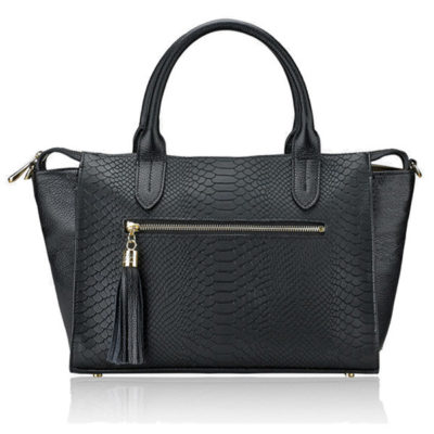 GiGi Black Grace Satchel