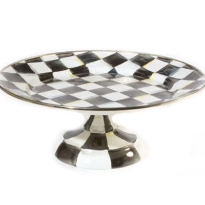 Mackenzie Childs Pedestal Large Platter
