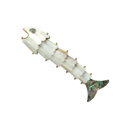Gilded Fish Bottle Opener