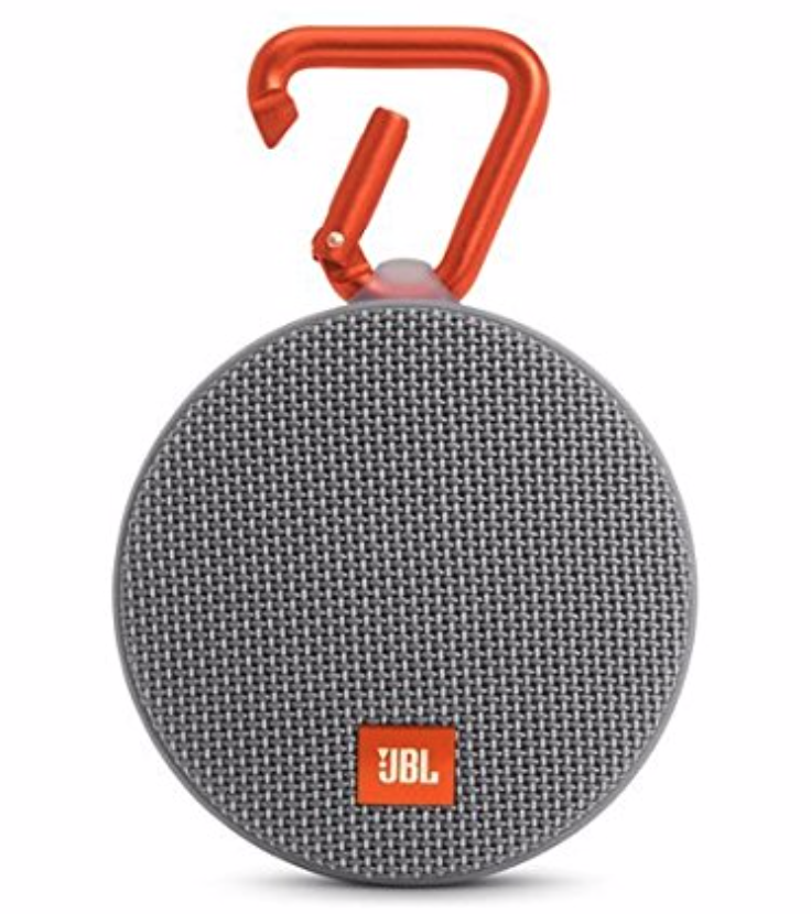 A waterproof speakers for listening to podcasts in the shower. Bonus points if you give them a personalized podcast suggestion list.