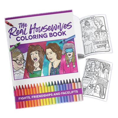 Best of Real Housewives Adult Coloring Book