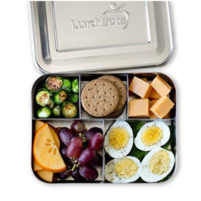 LunchBots Bento Stainless Steel Container