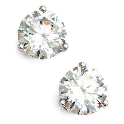 2ct tw Cubic Zirconia Earrings