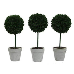 Admired By Nature Boxwood Ball