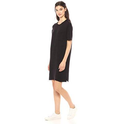 Boxy Pocket T-Shirt Dress