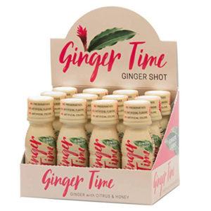 Ginger Time Ginger Shots (12 Pack)