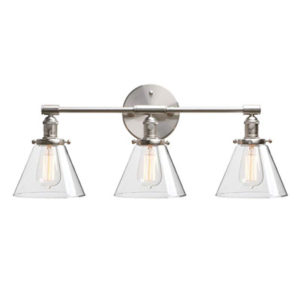 Phansthy 3 Light Wall Sconce