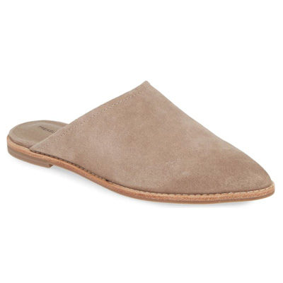 Rainey Mule, TAUPE SUEDE