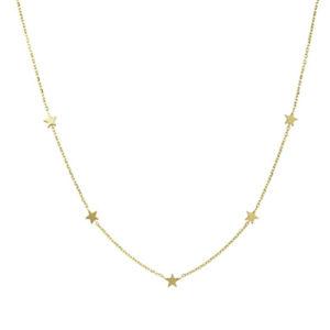 LLJ Gold Star Necklace