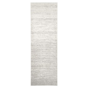 afavieh Adirondack Collection Ivory and Silver Oriental Vintage Medallion Rug