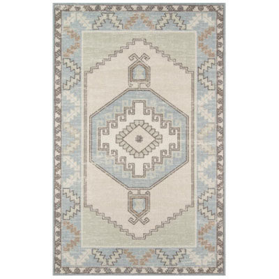Anatolia Light Blue 2 ft. x 3 ft. Area Rug
