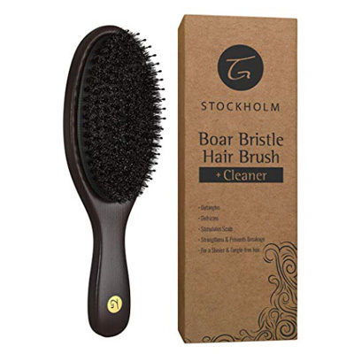 Boar Bristle Hair Brush