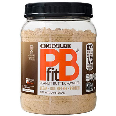 All-Natural Chocolate Peanut Butter Powder