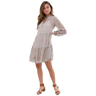 New Look Tiered Smock Dress