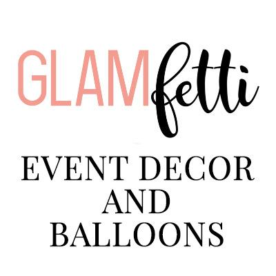 GLAMfetti Event Decor