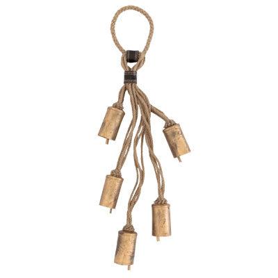 Jute Sleigh Bells Door Hanger