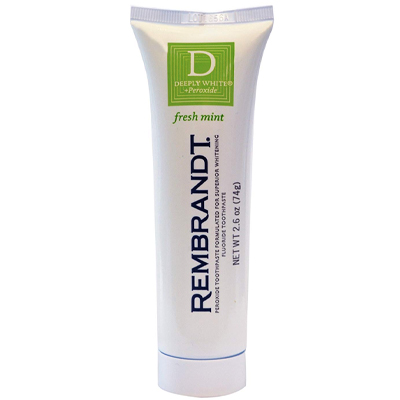 Rembrandt Deeply White + Peroxide Whitening Toothpaste