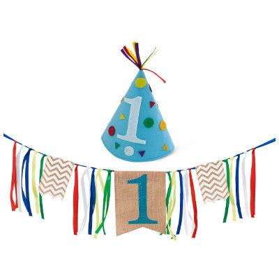 Boy First Birthday Decorations