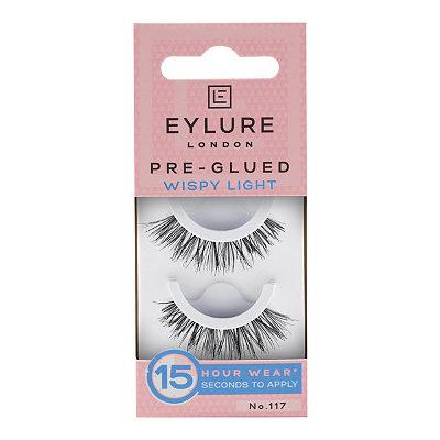 Pre-Glued Wispy Eyelashes No. 117