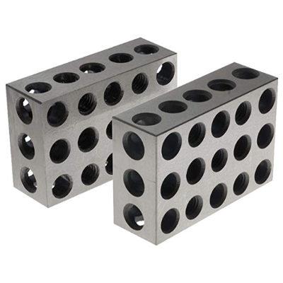 Pair of 1″ x 2″ x 3″ Precision Steel 1-2-3 Blocks