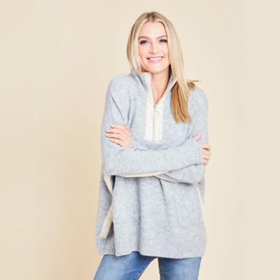 THML Half Zip Sweater