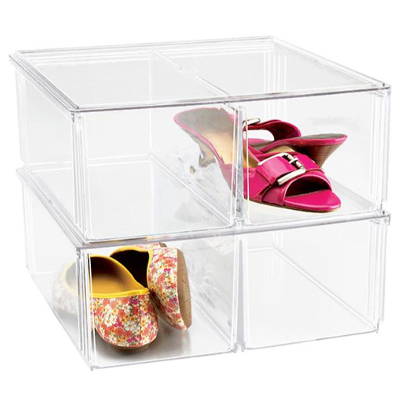 The Container Store Premium Stacking Shoe Bin