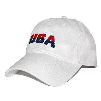 USA Needlepoint Hat
