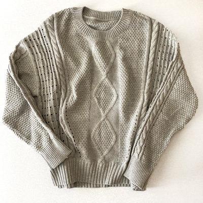 Women Long Sleeves Soft Velvet Sweater