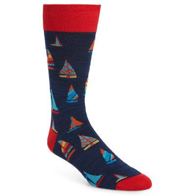 Sail Boat Socks