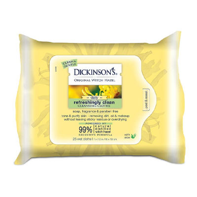 Dickinson's Original Refreshingly Clean Daily Cleansing Cloths