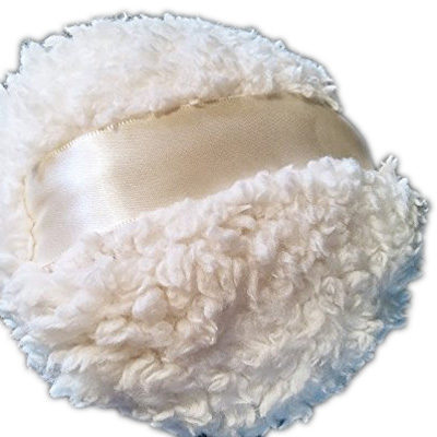 Fluffy Fleece Powder Puff