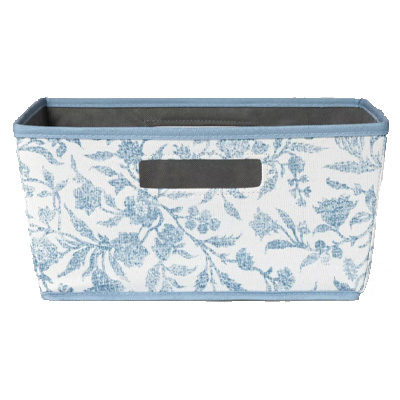 Half Bin Floral Pattern Blue – Threshold