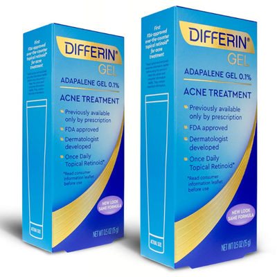 Differin Adapalene Gel 0.1% Acne Treatment