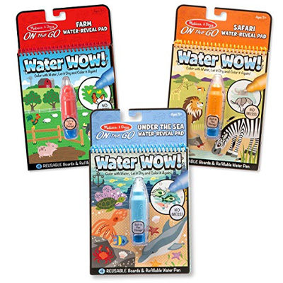Melissa & Doug Water Wow! Coloring Books