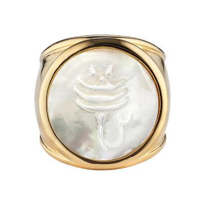 Zodiac Ring MOP