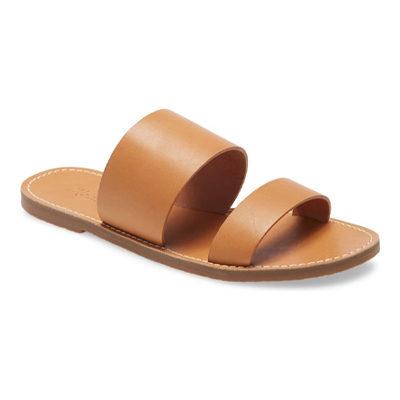 The Boardwalk Double Strap Slide Sandal