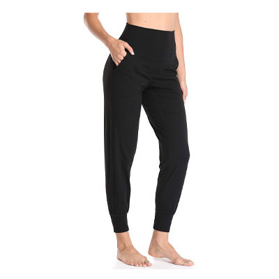Women's High Waisted Fitted Joggers