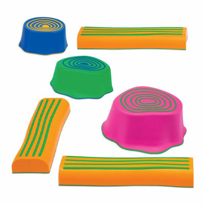 Step-A-Trail – 6 Piece Obstacle Course For Kids