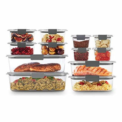 Brilliance Storage 24-Piece Plastic Lids