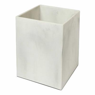 Marble Trashcan