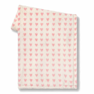 Mini Hearts Throw Blanket